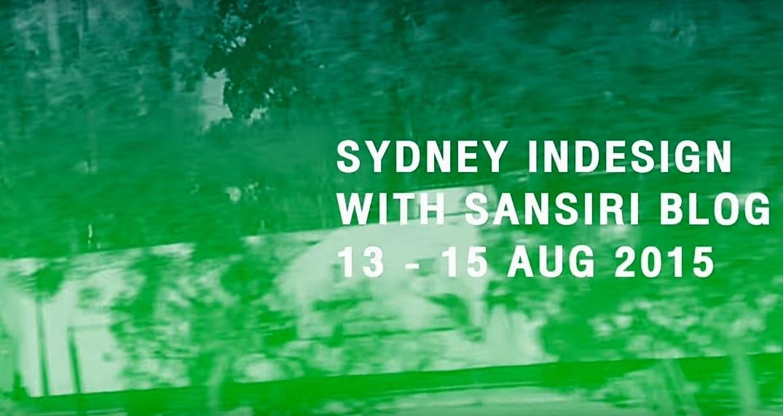 SydneyIndesign