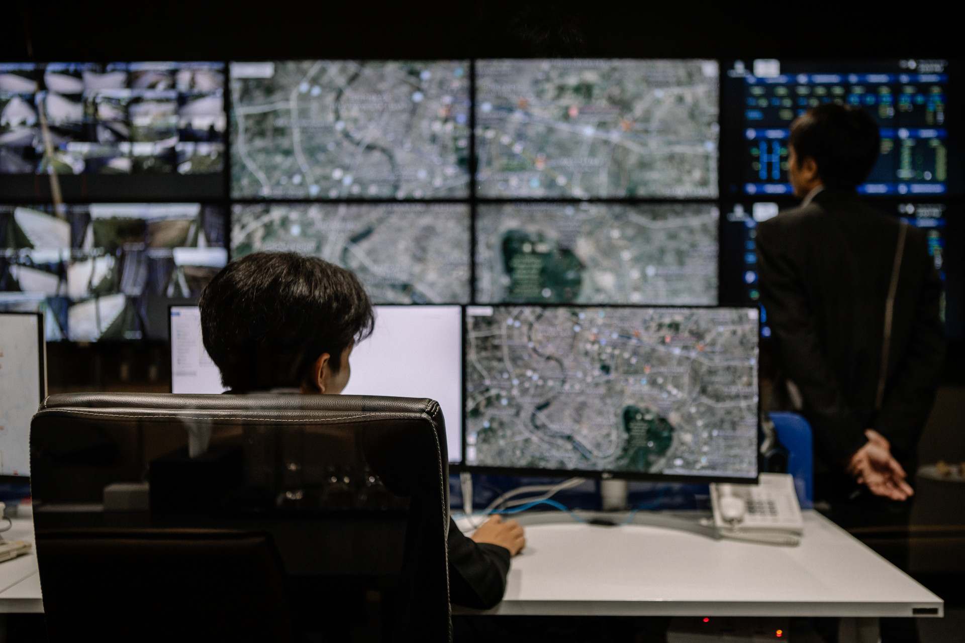 LIV-24 บริการดูแลความปลอดภัยจากศูนย์ควบคุมแบบเรียลไทม์ 24 ชั่วโมง จากแสนสิริ smart command centre (10)