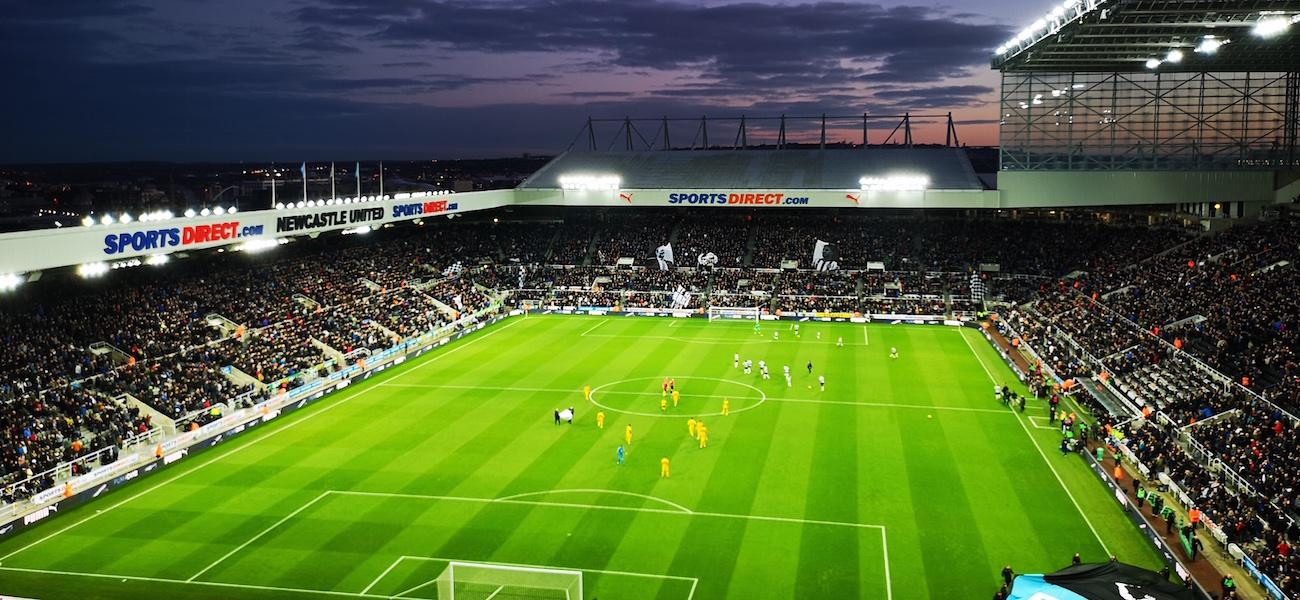 สนาม Newcastle United