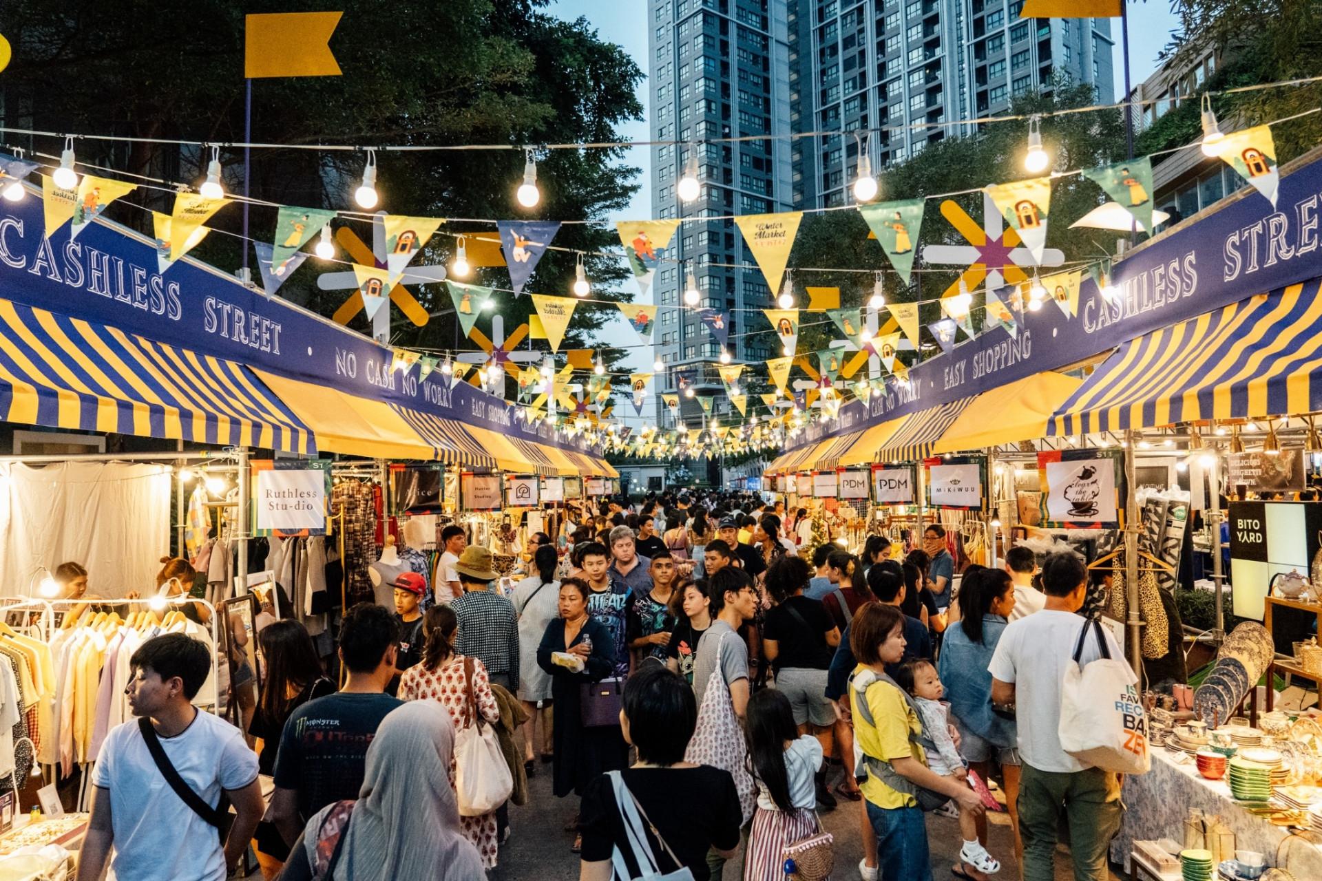 Winter Market Fest SCB Cashless Zone