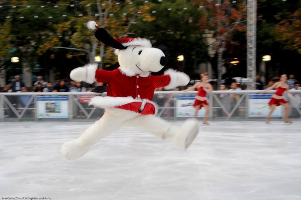 Holiday Ice Rink Downtown LA