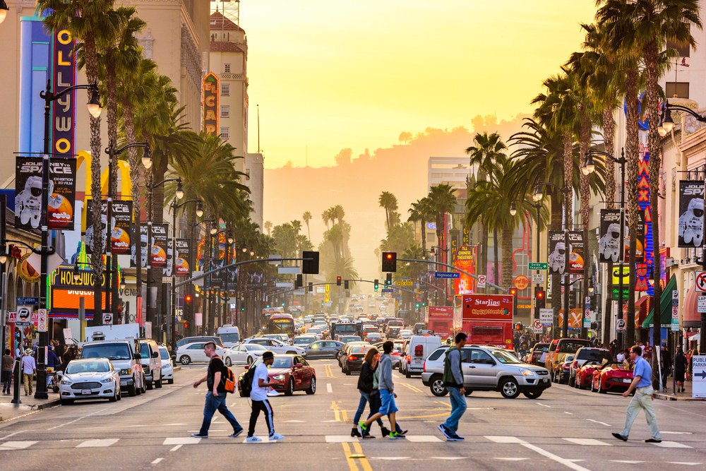 Sunset Strip LA Los Angeles