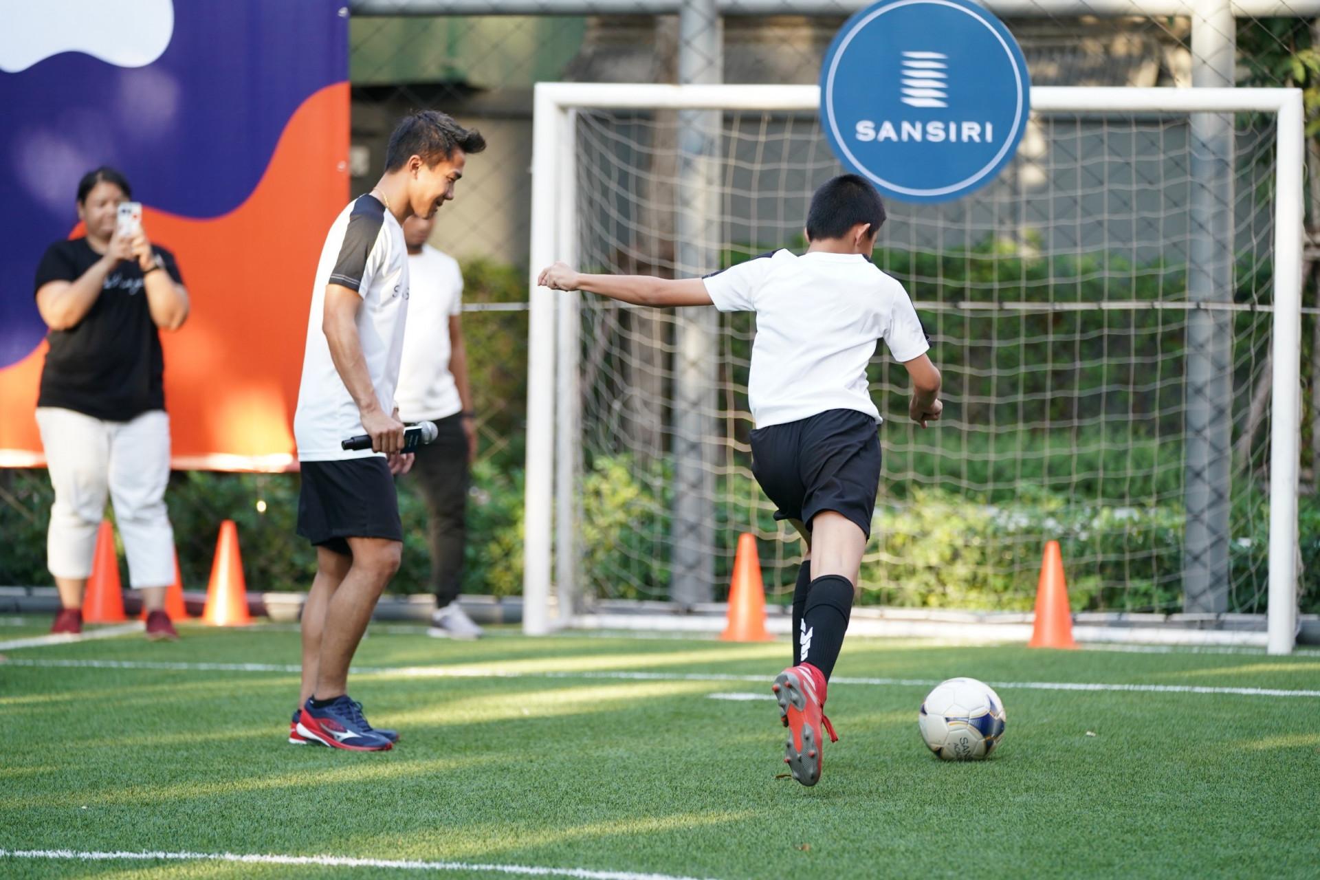 Sansiri X Messi Jay Football Workshop เจ ชนาธิป j chanathip