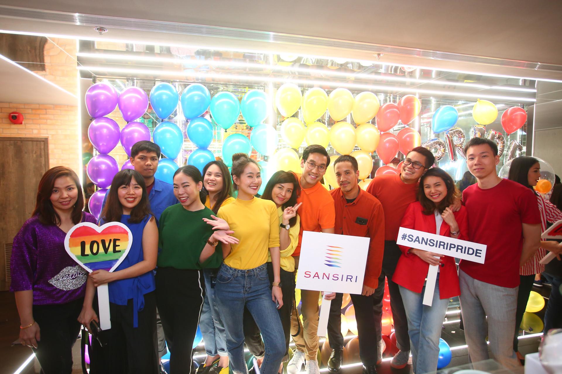Sansiri Pride Month 2018